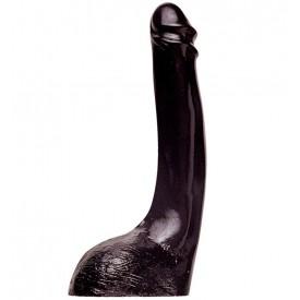 Чёрный фаллоимитатор-гигант All Black - 32 см.